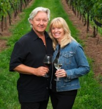 Carl and Donna Sparkes, Owners, Devonian Coast Wineries, Nova Scotia