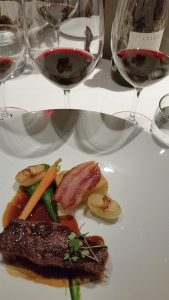 Braised Short Rib paired with Culmina 2012 and 2013 Hypothesis at Ancora