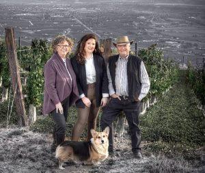 Don, Elaine, and Sara Triggs at Culmina