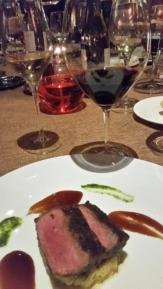 New York steak paired with Bodega Numanthia 'Termanthia' Tempranillo