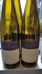 CedarCreek Estate Winery Riesling 2016
