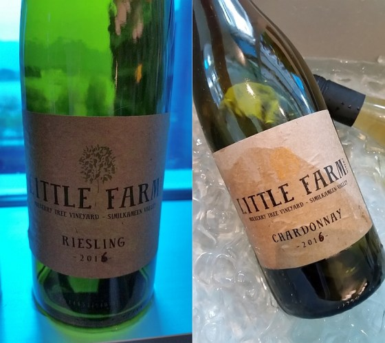 Little Farm Winery Riesling and Chardonnay 2016 wines