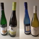 Three Rieslings and a Pinot Gris from Germany