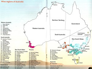AusUpClose map (Courtesy Wine Australia)