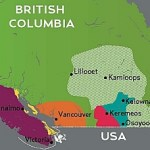 BC wine regions map