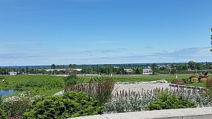A view from Peninsula Ridge Estates Winery