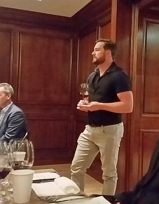 Andrew Windsor wine maker from Tinhorn Creek