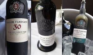 Taylor Fladgate 30 Year Old Tawny Port, 1994 Vintage Port, and 1966 Single Harvest Tawny Port