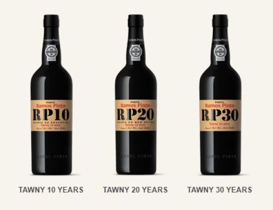 Ramos Pinto Terroir Gold range Port