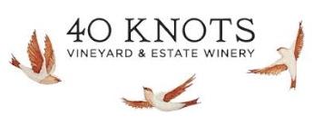 40 Knots Vineyard and Estate Winery logo