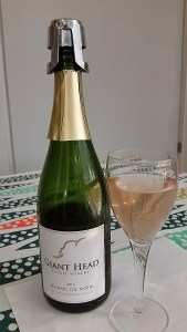 Giant Head Estate Winery Blanc de Noir sparkling wine
