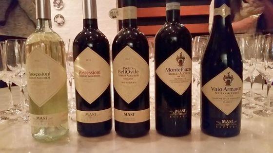 Serego Alighieri wines at Cibo Trattoria dinner