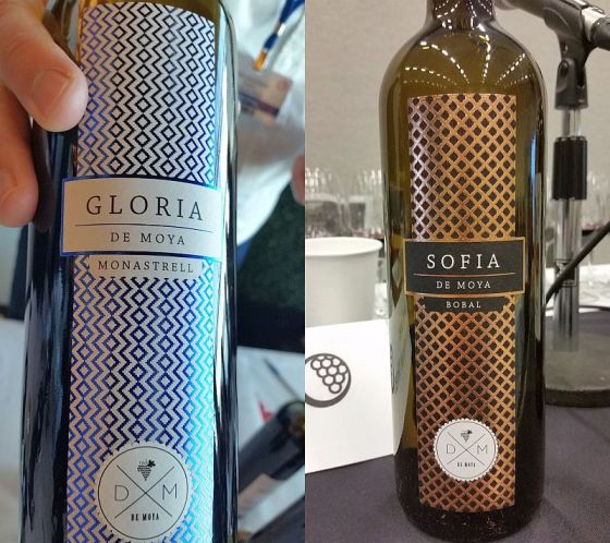 Bodega de Moya Gloria and Sofia wines
