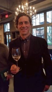 Grant Stanley, winemaker, at Spearhead Winery
