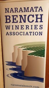 Naramata Bench Wineries Association banner