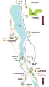 Okanagan Falls map (Image courtesy https://www.ofwa.ca/)