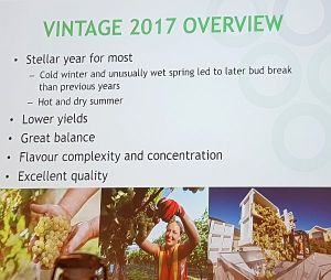 BC vintage 2017 overview
