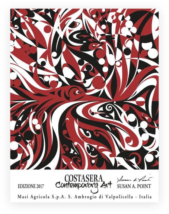 Costasera Contemporary Art artwork for 2000 label