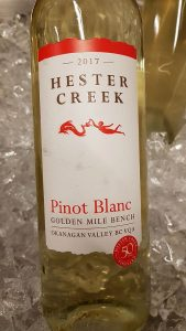 Hester Creek Pinot Blanc 2017