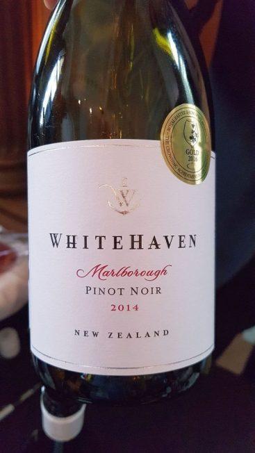 Whitehaven Pinot Noir 2014