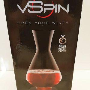 vSpin decanter in box