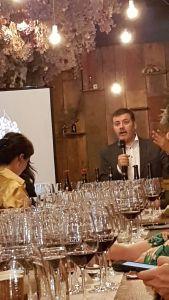 Raffaele Boscaini wine ambassador from Masi to lead us through the Amarone tasting
