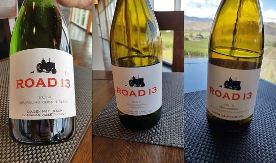 Road 13 Sparkling Chenin Blanc, Chip Off the Old Block Chenin Blanc, and Stemwinder wines