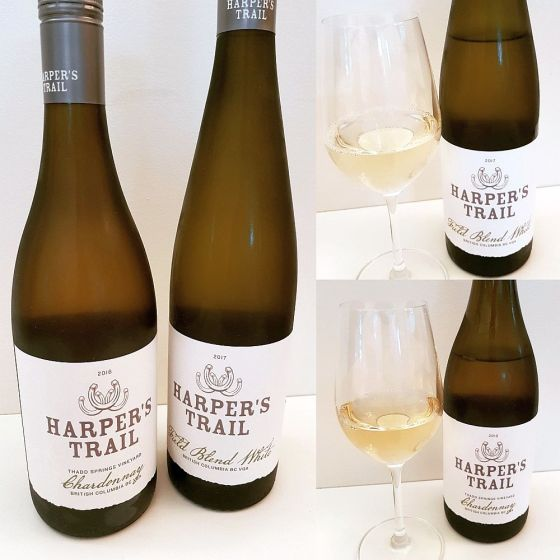 Harper's Trail Chardonnay and Field Blend White wines