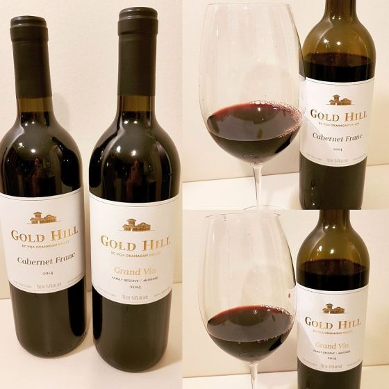 Gold Hill Cabernet Franc and Grand Vin Family Reserver 2014