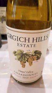 Grgich Hills Estate Napa Valley Chardonnay 2015