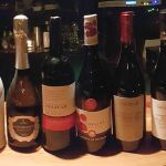 Lineup of Italian wines from Vinum & Cibus Italici
