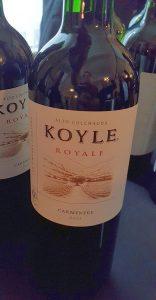 Vina Koyle Royale Carmenere 2015