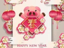 Chinese New Year of the Brown Pig (Image courtesy www.thechinesezodiac.org)