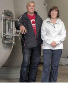 Christine Coletta and Steve Lornie from Okanagan Crush Pad (Image courtesy Okanagan Crush Pad)