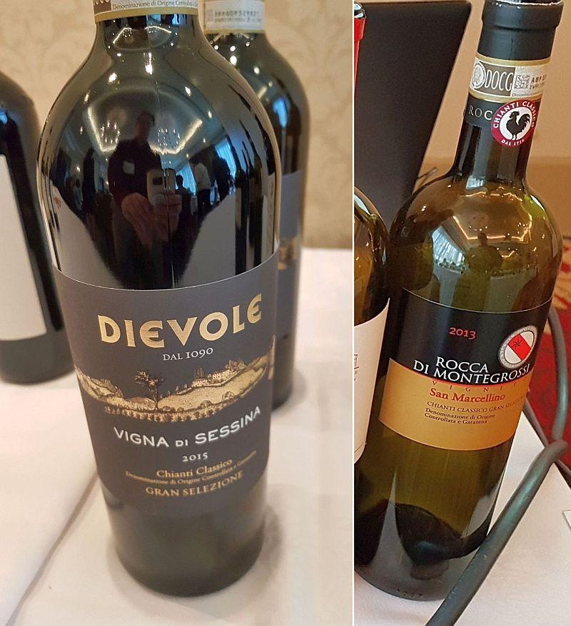 ce82e2bb7 Dievole Chianti Classico DOCG Gran Selezione Vigna di Sessina 2015 and  Rocca di Montegrossi Chianti Classico