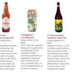 Steel & Oak, Steamworks, and Le Trou du Diable beers