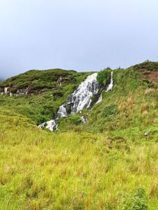 Brides Veil falls on the Isle of Skye