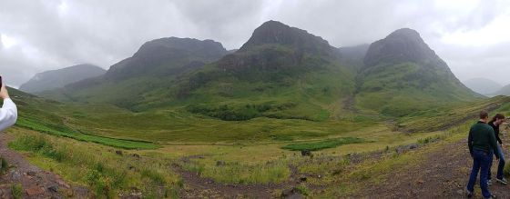 I think this is the Glencoe area (but it is beautiful regardless)