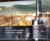 Black Hills Estate Winery Fall 2019 media release