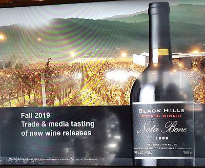 Black Hills Estate Winery Fall 2019 media release