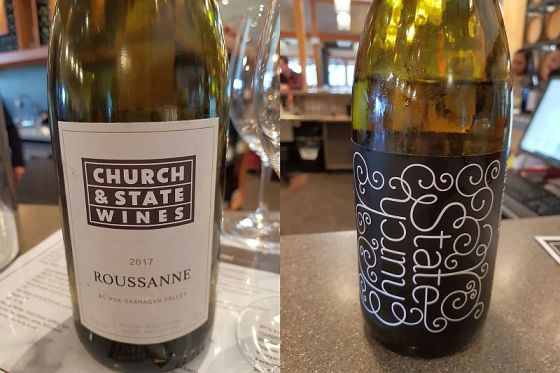 Church & State Wines Trebella 2016 and Rose 2017 wines