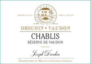 Joseph Drouhin Vaudon Chablis label