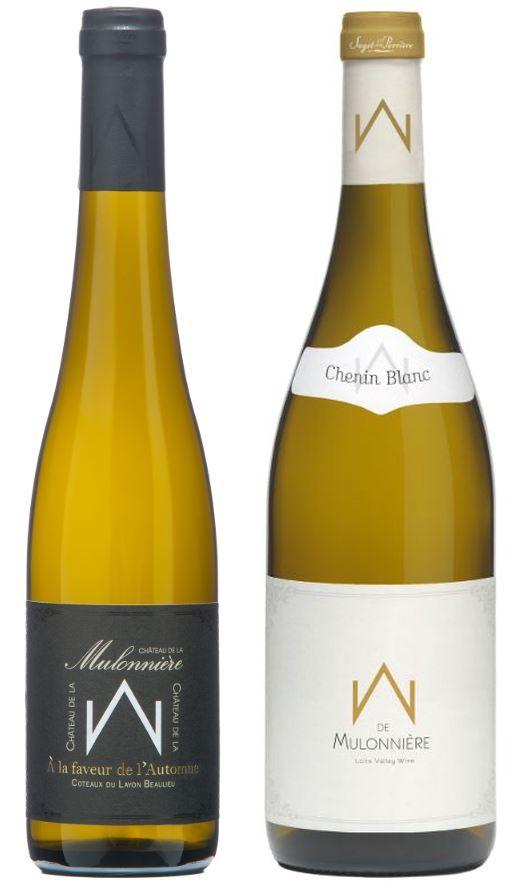 Saget La Perriere Coteaux du Layon Beaulieu Chenin Blanc and M de Mulonniere Anjou Chenin Blanc