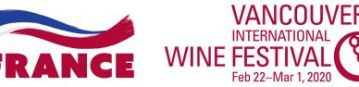 French logo with VanWineFest logo 2020