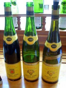 Hugel wines from Alsace