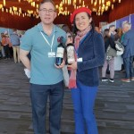 Karl MyWinePal with Dr. Laura Catena from Bodega Catena Zapata