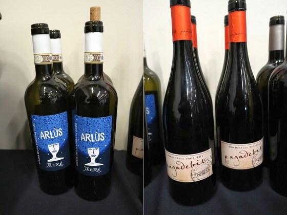 "Trere Albana Secca Romagna DOCG ""Arlùs"" 2018 and Poderi dal Nespoli Pagadebit 2017 wines at VanWineFest 2020"