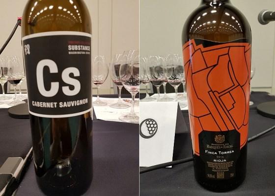 Wines of Substance Substance Vineyard Collection Jacks Cabernet Sauvignon 2014 and Marqués de Riscal Finca Torrea 2016 wines at VanWineFest 2020