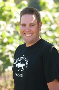 Singletree's winemaker Andrew Etsell (Photo courtesy Singletree Winery)