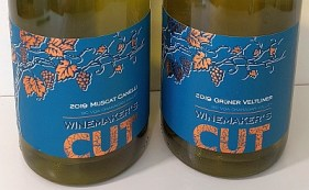 Winemaker's CUT Gruner Veltliner and Muscat Canelli wines